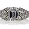 2.07 ct. Emerald Cut 3 Stone Ring #1