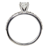 0.72 ct. Round Cut Solitaire Ring, G, SI2 #4