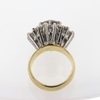 2.85 ct. Round Cut Central Cluster Ring #3