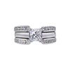 0.85 ct. Princess Cut Bridal Set Ring, G, VS1 #3