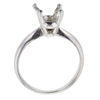 2.07 ct. Oval Cut Solitaire Ring, J, SI2 #4