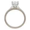 1.01 ct. Pear Cut Solitaire Ring, D, I1 #4