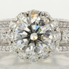 1.50 ct. Round Cut Bridal Set Ring #1