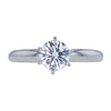 1.05 ct. Round Cut Solitaire Ring, F, IF #2