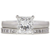 1.51 ct. Princess Cut Bridal Set Ring, H, VS2 #3