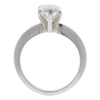 1.01 ct. Radiant Cut Solitaire Ring, F, SI2 #4