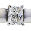 1.20 ct. Radiant Cut Bridal Set Ring, F, VS2 #4