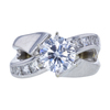 1.55 ct. Round Cut Solitaire Ring, F, SI1 #3