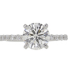 1.52 ct. Round Cut Solitaire Ring, H, SI2 #3