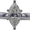 1.64 ct. Marquise Cut Solitaire Ring #4