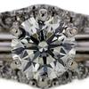 1.55 ct. Round Cut Bridal Set Ring #2
