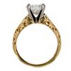 1.90 ct. European Cut Bridal Set Ring #2