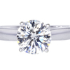 1.55 ct. Round Cut Solitaire Ring #3