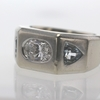 2.01 ct. Oval Cut 3 Stone Ring #3