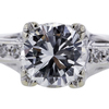 0.93 ct. Round Cut Solitaire Ring #4