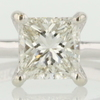 1.62 ct. Princess Cut Solitaire Ring #1