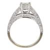 0.95 ct. Princess Cut Bridal Set Ring, I-J, VS1-VS2 #2