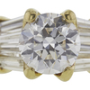 0.77 ct. Round Cut Solitaire Ring, G, SI1 #4