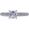 1.01 ct. Asscher Cut Solitaire Ring, D, VVS1 #3