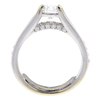 0.85 ct. Round Cut Solitaire Ring, G-H, I1 #2