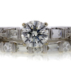 .86 ct. Round Cut Bridal Set Ring #1