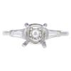 1.64 ct. Round Cut 3 Stone Ring, H, VS2 #3