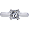 1.18 ct. Princess Cut Solitaire Ring, E, SI1 #3