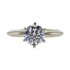 1.05 ct. Round Cut Solitaire Ring, F, VS2 #3