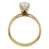 0.92 ct. Round Cut Solitaire Ring, H, SI1 #4