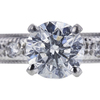 1.07 ct. Round Cut Bridal Set Ring, G-H, I1-I2 #2