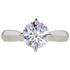 1.39 ct. Round Cut Solitaire Ring, D, VS1 #3