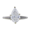 1.58 ct. Pear Cut Solitaire Ring, H, I2 #4