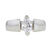 0.78 ct. Marquise Cut Solitaire Ring, G, VS2 #3