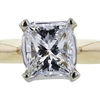 1.06 ct. Princess Cut Solitaire Ring, H, VS2 #4