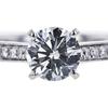 0.90 ct. Round Cut Bridal Set Ring, G, VS1 #4