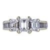 0.70 ct. Emerald Cut 3 Stone Ring, E, SI1 #3