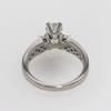 0.74 ct. Round Cut Bridal Set Ring #3