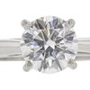 0.8 ct. Round Cut Solitaire Ring, E, SI2 #4