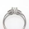 .90 ct. Round Cut 3 Stone Ring #2