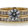 1.01 ct. Round Cut Bridal Set Ring #4