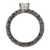 1.02 ct. Asscher Cut Solitaire Ring #3