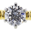 1.20 ct. Round Cut Solitaire Ring, H, SI1 #4