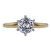 0.75 ct. Round Cut Solitaire Ring, D, VS1 #4