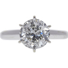 1.99 ct. Round Cut Solitaire Ring, I, I2 #3