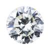 1.06 ct. Round Cut Bridal Set Ring, K, SI2 #1