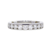 Round Cut Eternity Band Tiffany & Co. Ring, G-H, VS1-VS2 #2