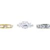 Antique GIA 1.55 ct. Oval Cut Bridal Set Ring, H, VS2 #2