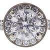 1.52 ct. Round Cut Bridal Set Ring, E-F, I3 #1