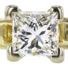 0.98 ct. Princess Cut 3 Stone Ring, J, VS2 #4