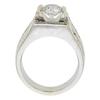 1.05 ct. Round Cut Bridal Set Ring, H-I, SI1-SI2 #3